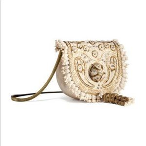 🎊HP🎊H&M conscious collection beaded shoulder bag